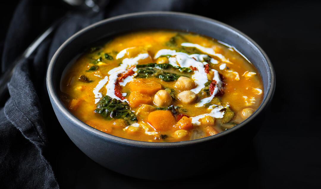 Gjelina's Chickpea Stew in a bowl.