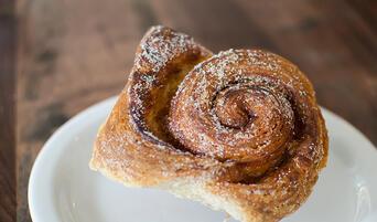 Morning bun at Tartine Bakery in San Francisco.
